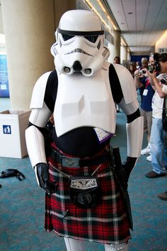 Scottish storm trooper