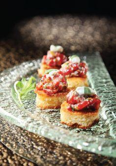#laurelpine #wagyubeef Wagyu Beef Steak Tartare with Brioche Toast | Crave Online www.enjoyfoiegras.com