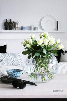 HOUSE of IDEAS Large vase with studs www.houseofideas.de