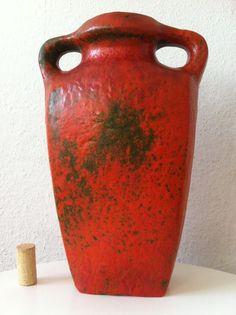 Ruscha Vase 31 cm Otto Gerharz Fat Lava 60s70er pop 70s pottery ceramics wgp es
