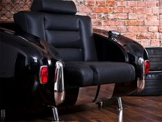 Slick Black Cadillac Chair!!