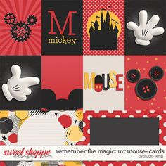 Remember the Magic: MR MOUSE- COLLECTION & *FWP* by Studio Flergs