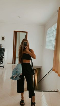 Mode Outfits, Teen Fashion Outfits, Girl Outfits, Cute Casual Outfits, Stylish Outfits, Look Fashion, Urban Fashion, Street Looks, Mode Inspiration