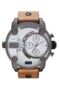 DIESEL 'Little Daddy' Men's Watch. $177. 40% off (was $295). #nordstrom #menstyle #snazzledazzle #classy #boomba