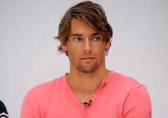 I know he's not on the US team but oh well #sofine Camille Lacourt