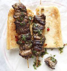 Grilled Pork Loin Kebabs
