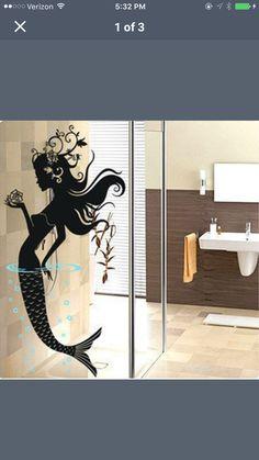 Large mermaid decal- HOME app