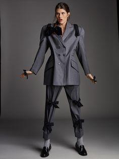 Tomas de la Fuente for Telva Magazine December 2018 with Lucia Lopez - Fashion Vogue Fashion, 80s Fashion, Fashion Show, Fashion Trends, Fashion Bloggers, Daily Fashion, Street Fashion, Fashion Inspiration, Editorial Photography