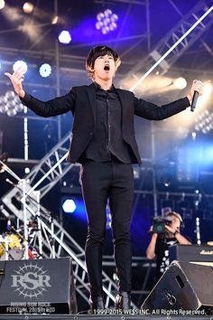 [Alexandros]川上洋平2015/8/15「RISING SUN ROCK FESTIVAL 2015 in EZO」@石狩湾新港樽川ふ頭横野外特設ステージ