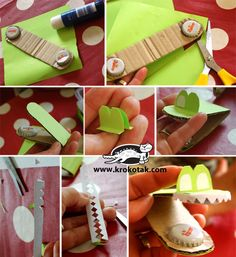 Castanets from bottle caps Making Musical Instruments, Homemade Instruments, Easy Diy Crafts, Crafts For Kids, Toddler Crafts, Recycled Art Projects, Craft Day, Camping Crafts, Summer Crafts