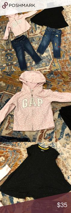 Gymboree SWEETER THAN CHOCOLATE Pink Velour Hooded Quilted Vest Jacket NWT