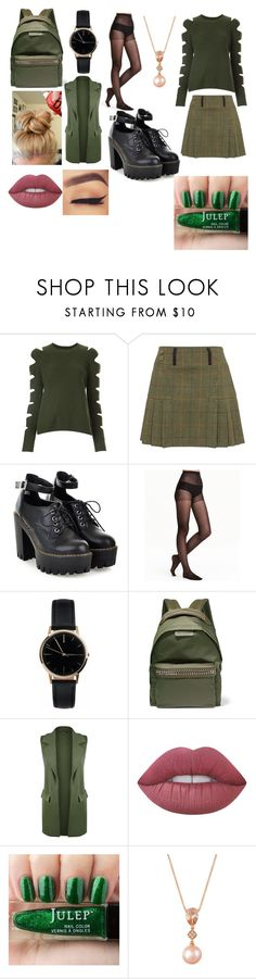 """Scholistic"" by famiakthar ❤ liked on Polyvore featuring ZoÃ« Jordan, Freedom To Exist, STELLA McCARTNEY, WearAll, Lime Crime and LE VIAN"