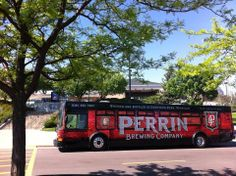 The Perrin Brewing Mobile Taproom at 5/3 Park, home of the West Michigan Whitecaps!