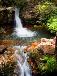 The Blue Hole in Stoney Creek, Tennessee
