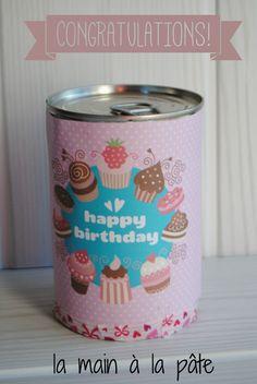 1390762664 gateau d anniversaire en boite de conserve Gâteau danniversaire à offrir en boite de conserve