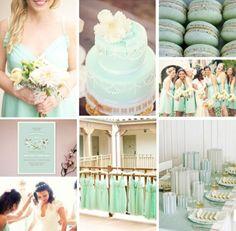 Mint themed wedding - 2013 Wedding Trend