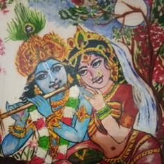 Krishna Painting, Krishna Art, Radhe Krishna, Indian Artist, Top Artists, Online Painting, Middle Ages, Fine Art Photography, Musical Instruments
