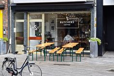Prime Coffee Cuts At Antwerp's Butchers Coffee http://sprudge.com/butchers-coffee-113873.html