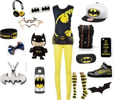 """more BATMAN"" by niall-is-the-best on Polyvore"
