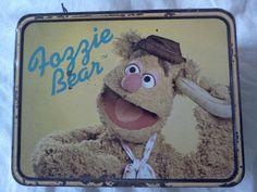 Fozzie Bear metal lunchbox