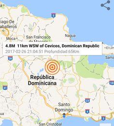 Fuerte temblor de tierra se siente en gran parte del territorio nacional