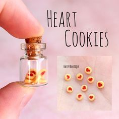 Little heart cookies! Wish they were real though Inspired by @christyheartsyou