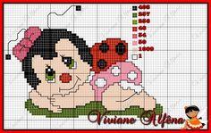 grafico-ponto-cruz-joaninha-1 Gráficos de Joaninha
