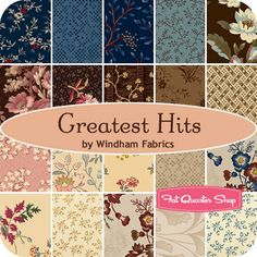 Greatest Hits Yardage Windham Fabrics - Fat Quarter Shop