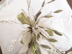 Wedding candle decoration, Greek lambades lambathes handmade fine lace and tulle decoration, porcelain olive leaves decoration for candle Long white wedding candle known as lambades or lambathes decoration will be a great decoration to your magical day. Decorated with porcelain leaves, fine lace, Star Wedding, Greek Wedding, Tulle Decorations, Christening Favors, Table Set Up, Wedding Favours, Olives, Invitations, Candles