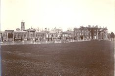 No preservation society or historical group raised an objection to the demolition of Robert Adam's Bowood House, Calne, Wilts; and the demolition went ahead unchallenged in 1956. Only the orangery wings – to the left of the photograph – remain, and they are today Grade I listed.