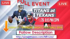 PURENWS!! Titans vs. Houston Live   this is weekend nfl free visible