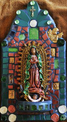 Mosaic Virgen Maria