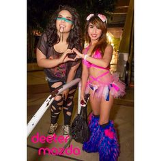 Haydeehaywood lazer trance 4, bunny rave outfit