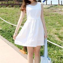 Shimi - Sleeveless A-Line Dress