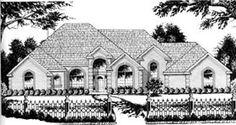 European   House Plan 77118