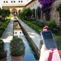 La #Alhambra  de #Granada como nunca la habías visitado con #Cooltura. Descargarla en www.tagcloudprojecr.eu