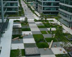 Парк-шахматная доска, или Кусочек Страны чудес в Праге | Я и ландшафтный дизайн