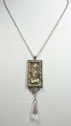 Embellished Dreams: ButterBeeScraps - Spellbinders - Two Necklaces and a Card - Bezels
