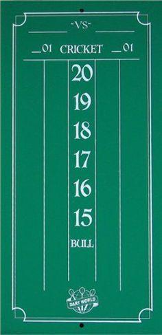 cricket board darts
