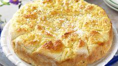 BARE SOLSKINN: Skulle regnet pøse ned, bak en kake. Solskinnskaka får fram smilet, garantert. Alle kan lykkes med glutenfri gjærbakst.Foto: ALL OVER