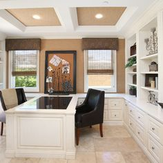 Traditional Home Built In Desk Design Ideas Pictures Remodel And Decor Office Ins
