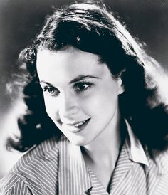 """""""Vivien came to the library in 1939. She came because she was doing publicity for Gone With the Wind. I'm not sure how she found this place, but she managed to find this place.She seemed very, very English. She said hello to me and I responded. Her smile was pure and simple. I got to know Miss Leigh over the years. She wrote me a few letters, came by the Library, whenever she could. It was truly shocking news when she died""""-Co-worker's grandfather."""