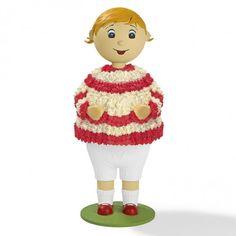 Caketales Tortenständer Mädchen - Freisteller 1