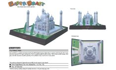 Taj Mahal, India. Free templates and download http://speckyboy.com/2011/04/08/40-amazing-papercraft-templates-for-the-geek-inside-you/