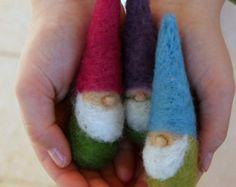 5 Filz Weihnachten Gnome-Figur Waldorf von MyJacobsLadder auf Etsy