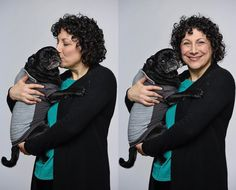 When the #studiodog is so cute you have to pause your headshot session to pick him up and give him a kiss...