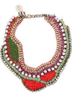 Sveva Collection 'Liz' Embellished Necklace