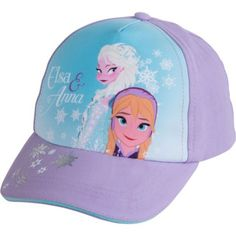 Child Purple Frozen Baseball Hat - Party City