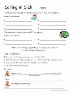Vocational Worksheets - Khayav
