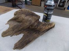 How to treat driftwood to protect it and bring out the tones and colors | Minwax Blog #MinwaxatSnap #MeetBruce
